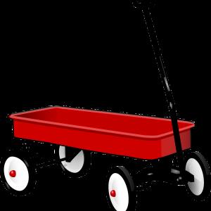 pull, wagon, trolley